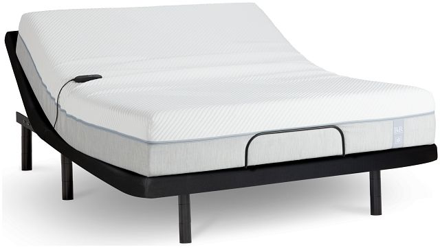 "Rest & Renew Memory Foam 11"" Silver Adjustable Mattress Set (1)"