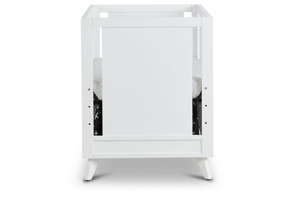 Kayson White Acrylic 3-in-1 Crib,  (2)