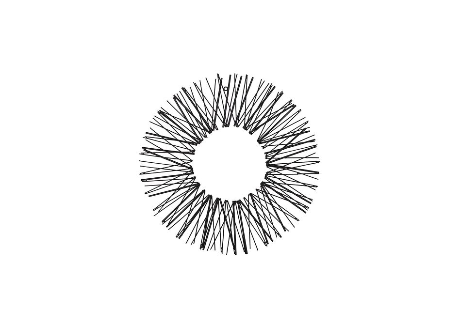 Burst Silver Medium Wall Art
