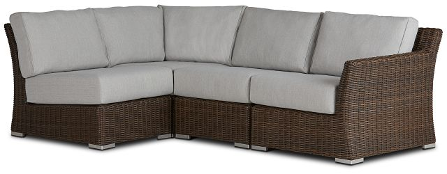 Southport Gray Right 4-piece Modular Sectional (0)