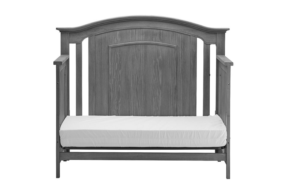 Willowbrook Gray  4-in-1 Crib