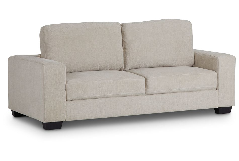 Estelle Beige Fabric Sofa