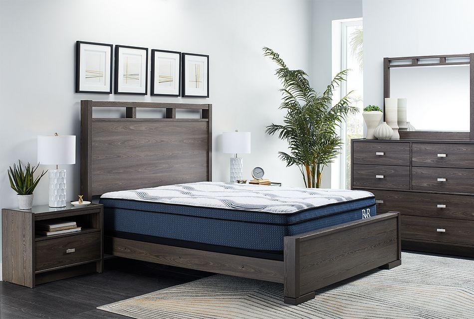Sutton Dark Tone Panel Bedroom