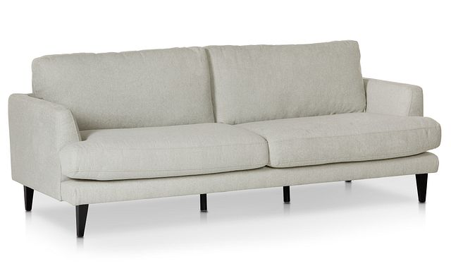 Fremont Light Beige Fabric Sofa (1)