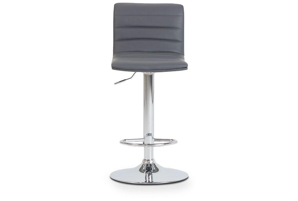 Motivo Gray Uph Adjustable Stool,  (3)