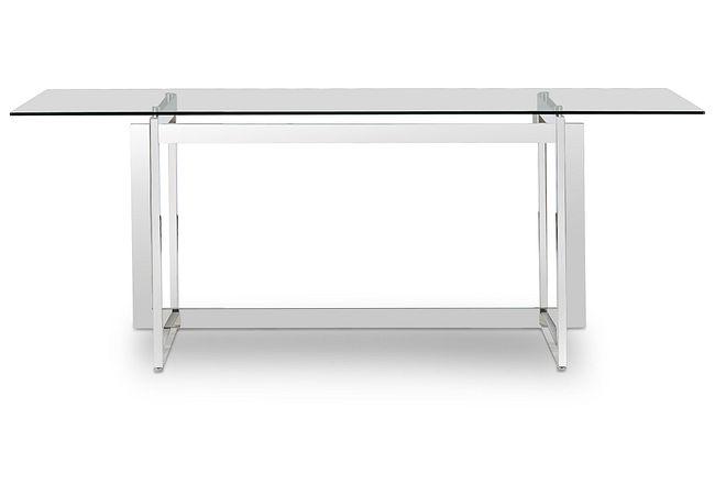 Bronx Glass Rectangular Table
