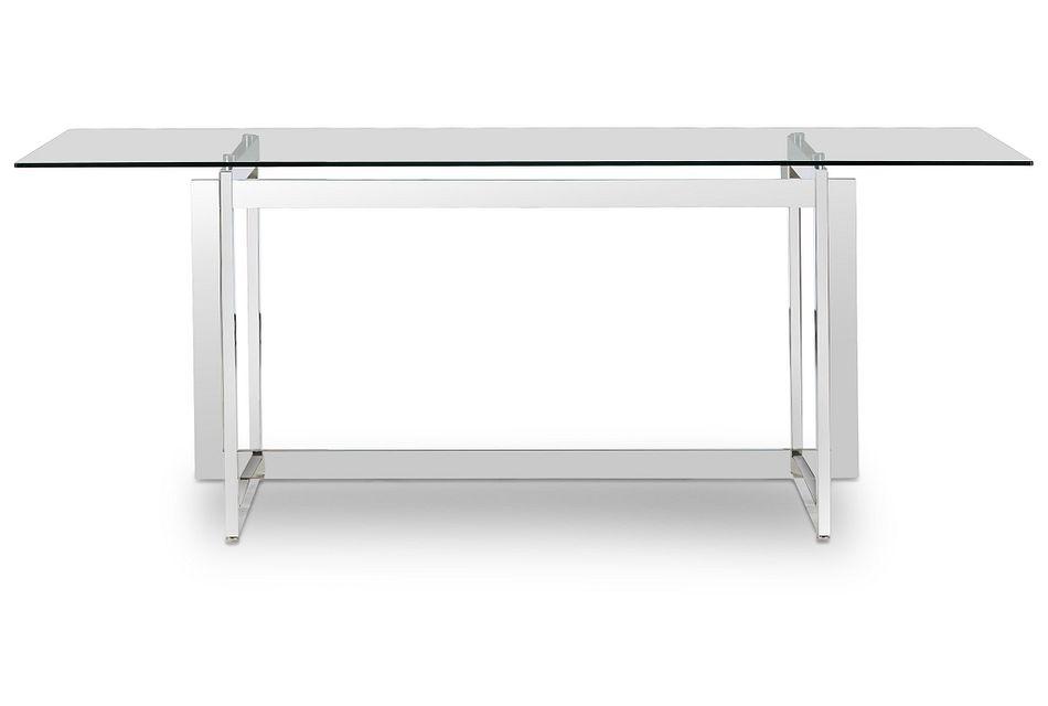 Bronx Glass  Rectangular Table,  (1)