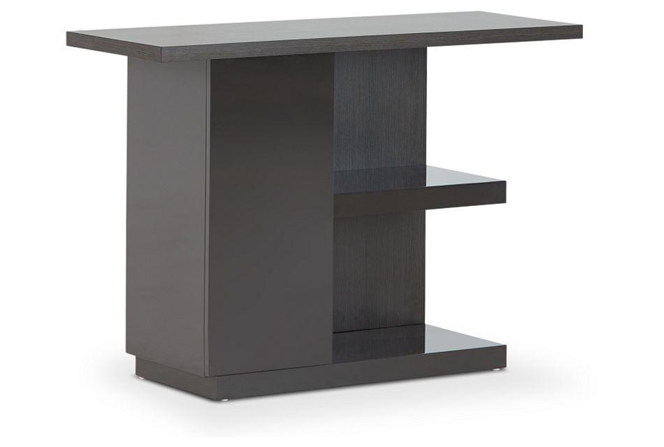 Caelan Dark Tone Sofa Table,  (3)