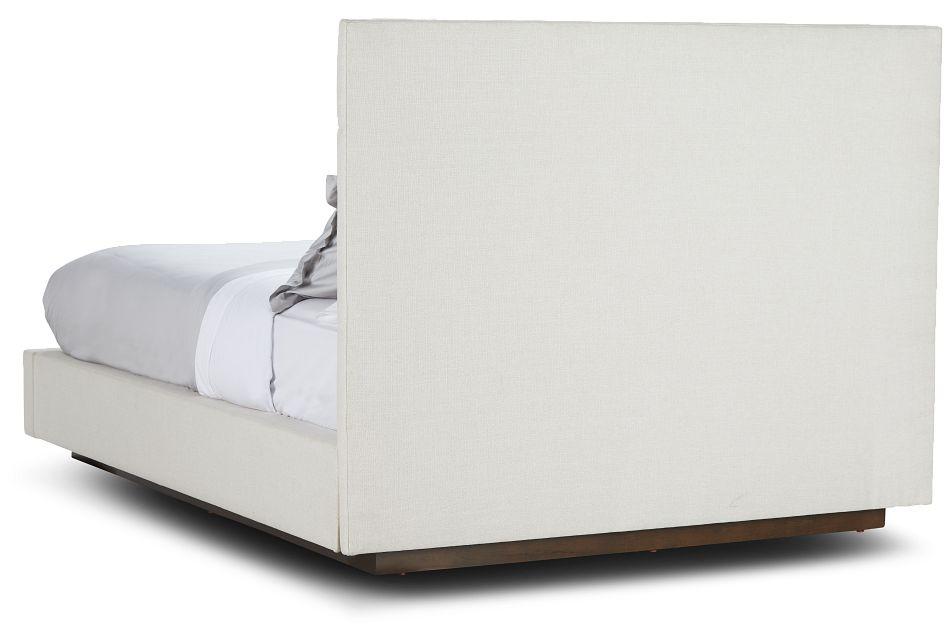 Essex Beige Fabric Complete Bed