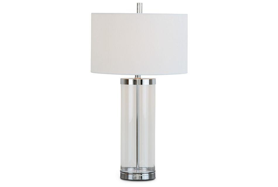 Mattia Clear Table Lamp
