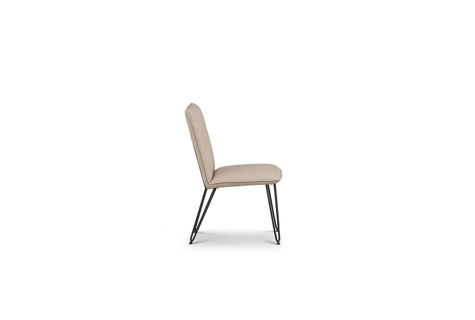 Demi TAUPE  Upholstered Side Chair,  (3)