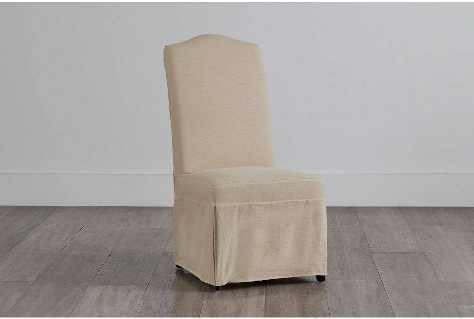 Aberdeen Beige Fabric Upholstered Side Chair,  (0)