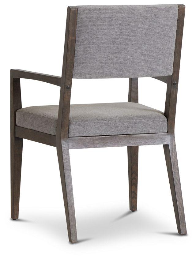 Linea Dark Tone Arm Chair