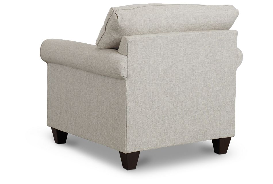 Cameron Beige Fabric Chair