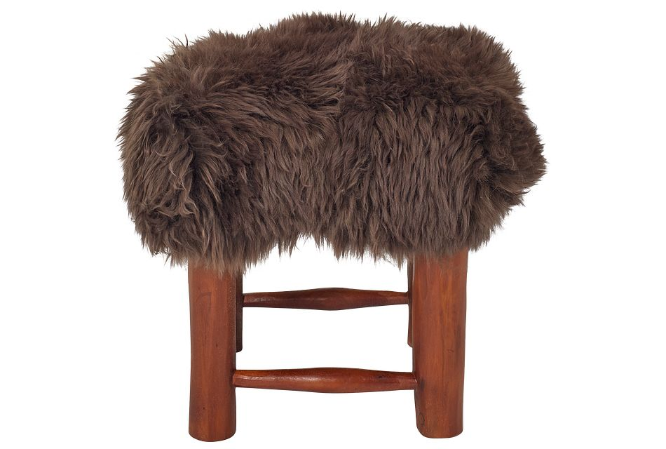 Nordic Brown Stool