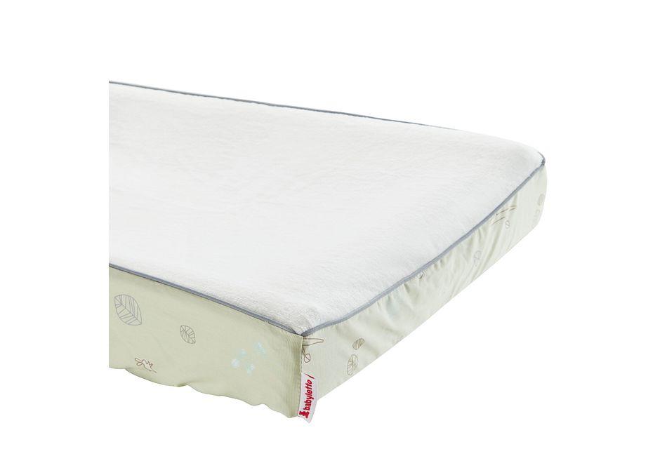 Tranquil Light Green  5 Piece Crib Bedding Set, Standard Crib (2)
