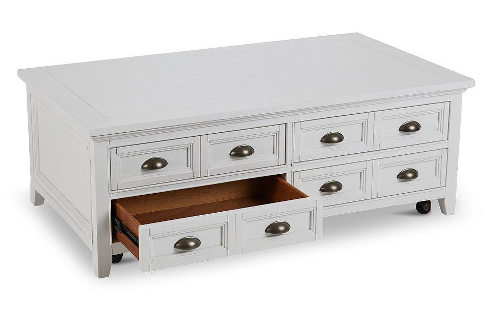 Heron Cove White Lift Coffee Table