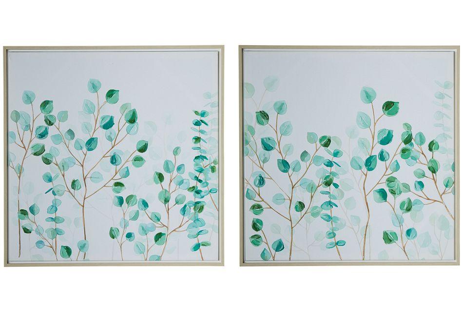 Pothos Green Set Of 2 Framed Wall Art