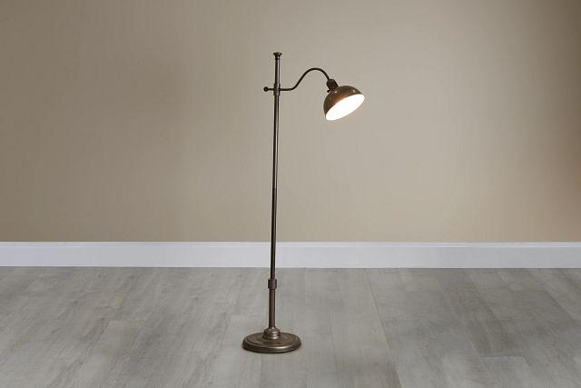 Castor Metal Floor Lamp (0)