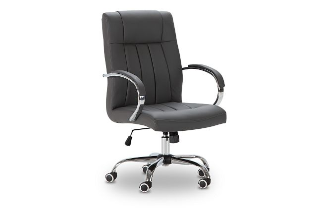 Oakland Gray Uph Desk Chair