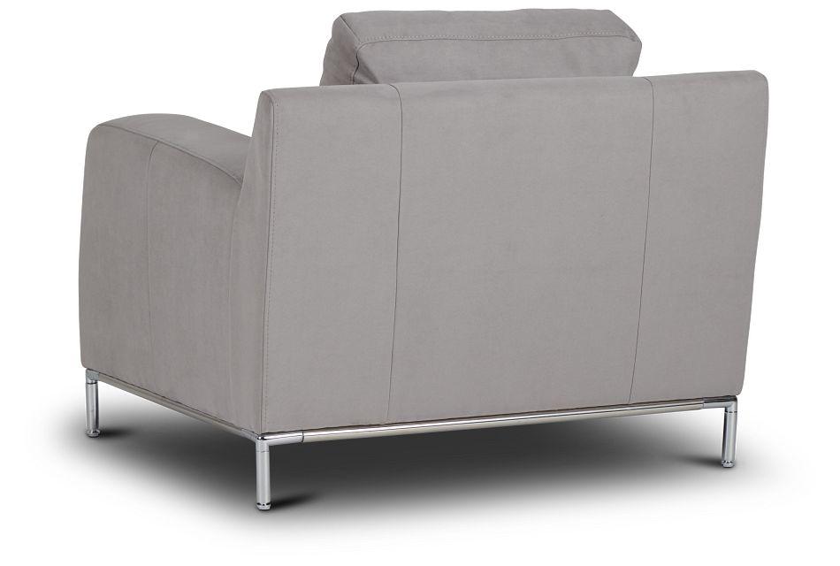 Wynn Light Gray Micro Chair,  (0)