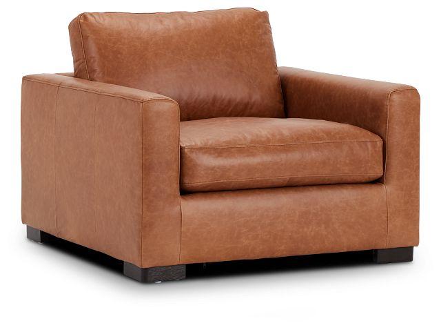 Bohan Brown Leather Chair (1)