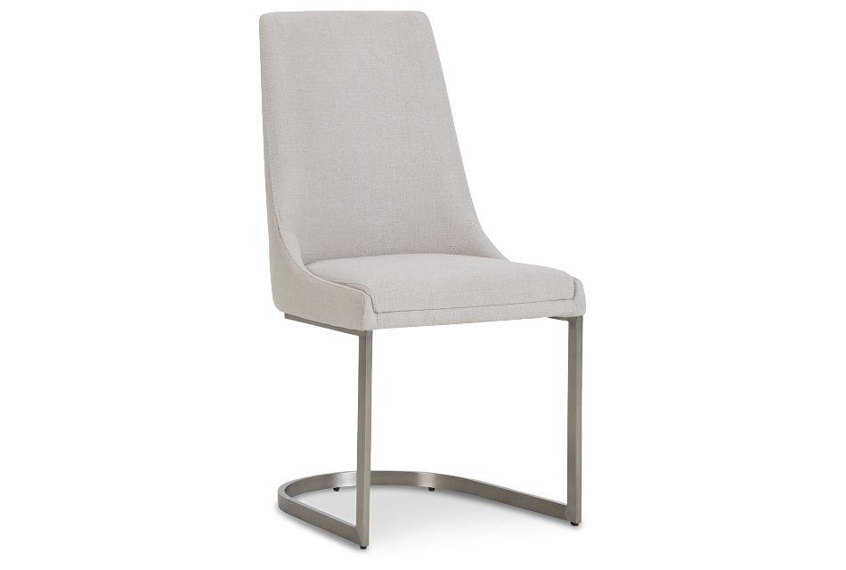 Madden Light Tone Upholstered Side Chair,  (1)