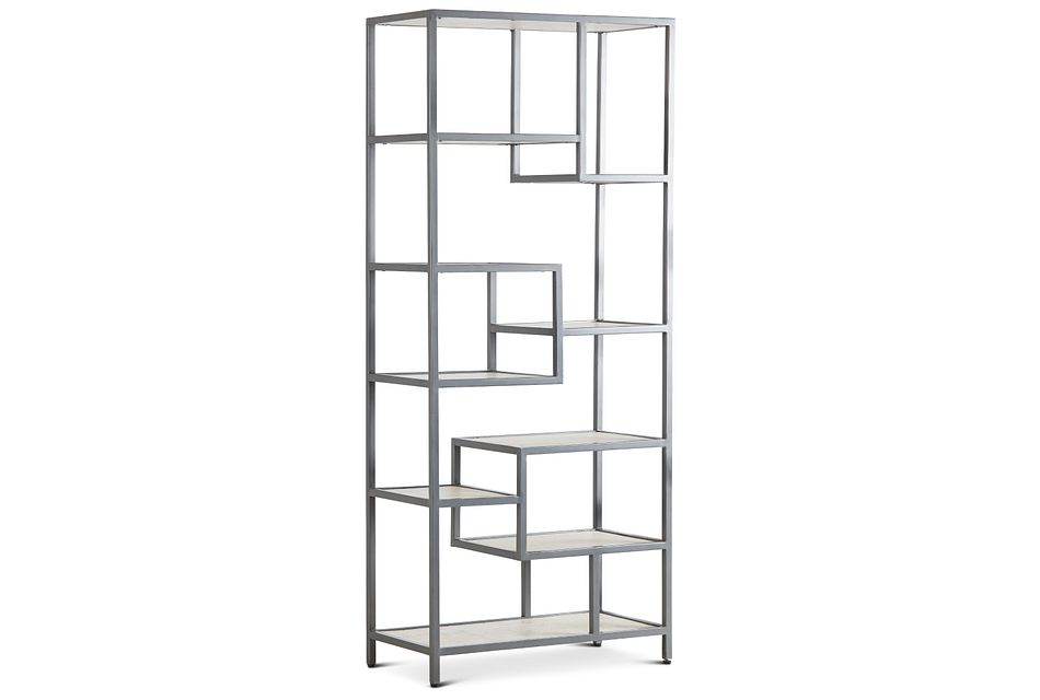 Bodhan Light Tone Bookcase