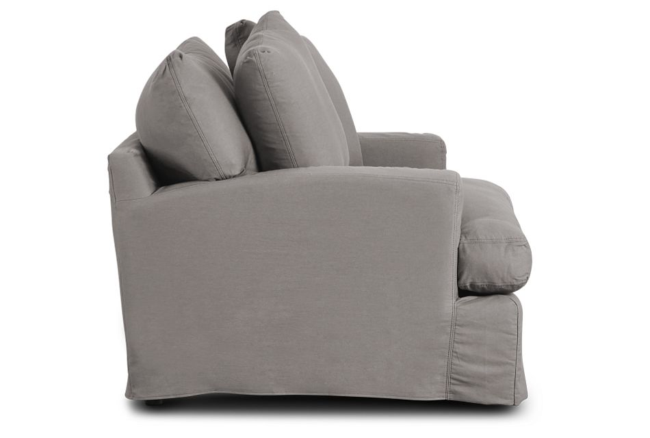 Delilah Gray Fabric Chair,