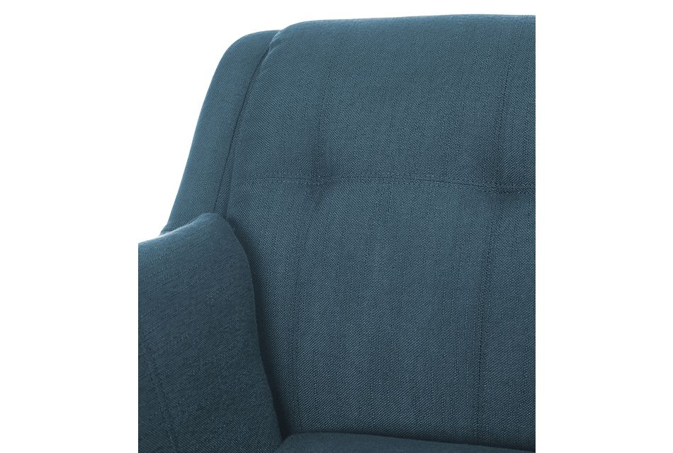 Tahoe Dark Blue Fabric Two-arm Sectional