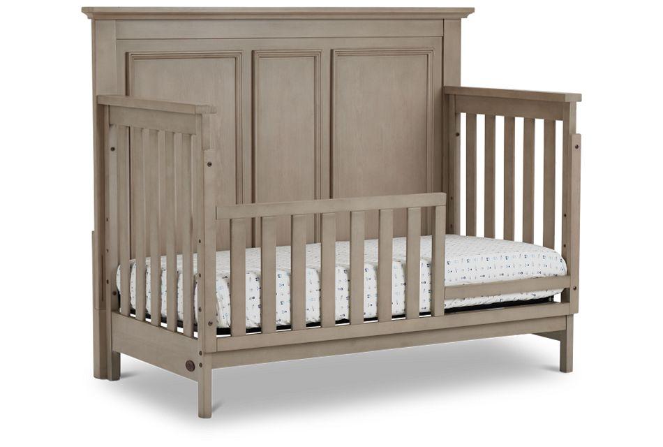Kenilworth Light Tone Toddler Bed, Standard Crib (1)