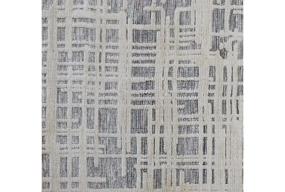 Mila Gray 5x8 Area Rug