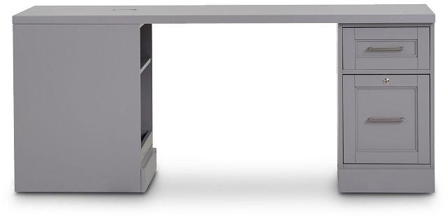 Newport Gray Peninsula Desk (1)