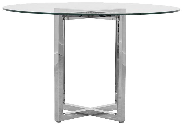 Amalfi Glass Round High Dining Table (0)