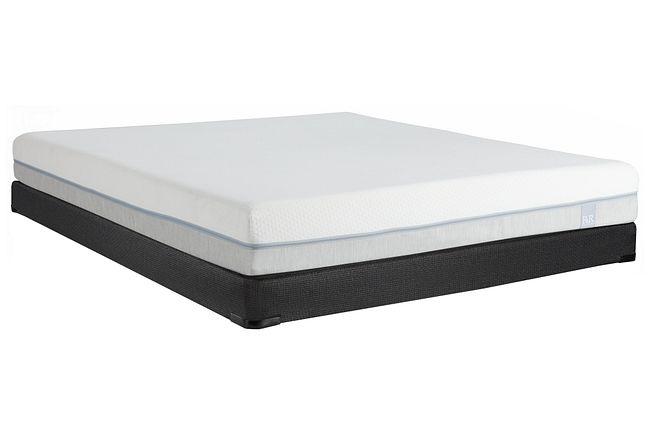 """Rest & Renew Memory Foam 8"""" Low-profile Mattress Set"""
