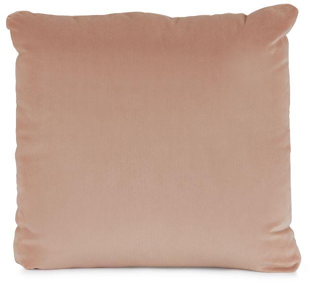 """Joya Light Pink Velvet 18"""" Accent Pillow (1)"""