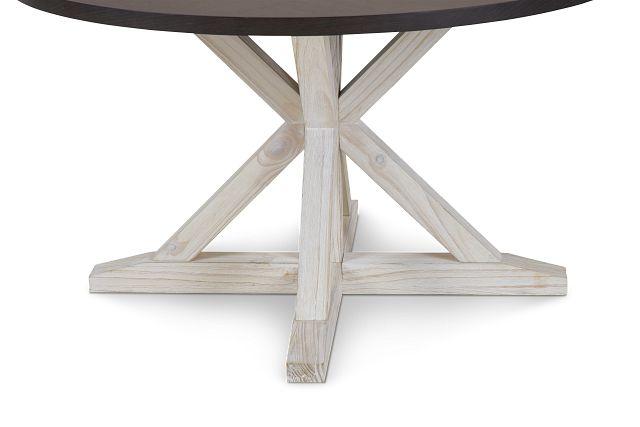Jefferson Two-tone Round Table