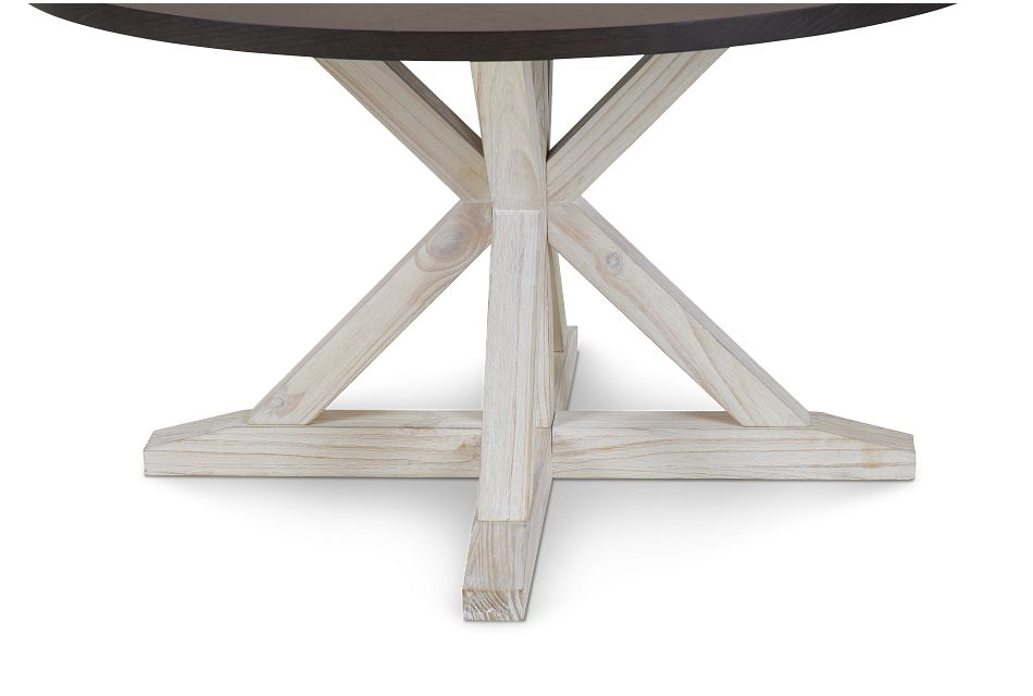 Jefferson Two-tone Round Table