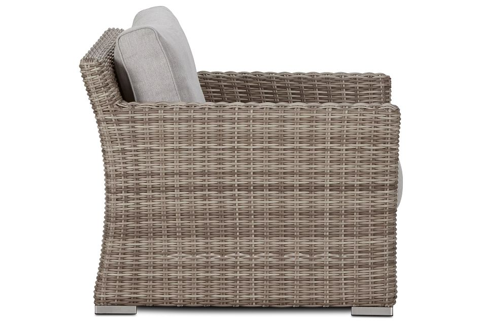 Raleigh Gray Woven Chair