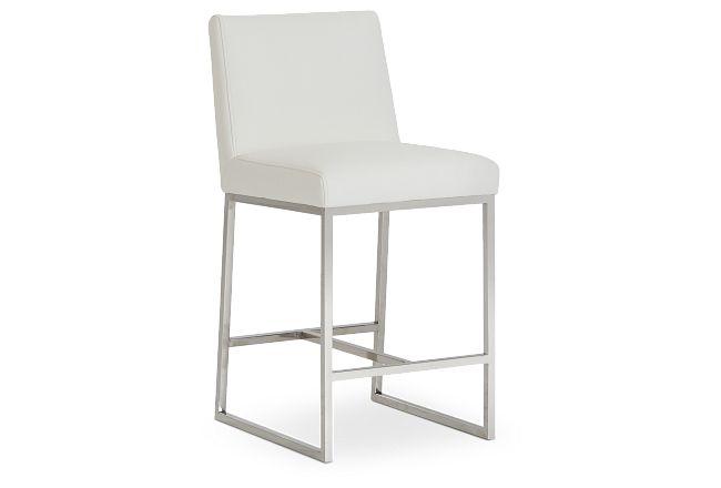 """Miami White Micro 24"""" Barstool"""