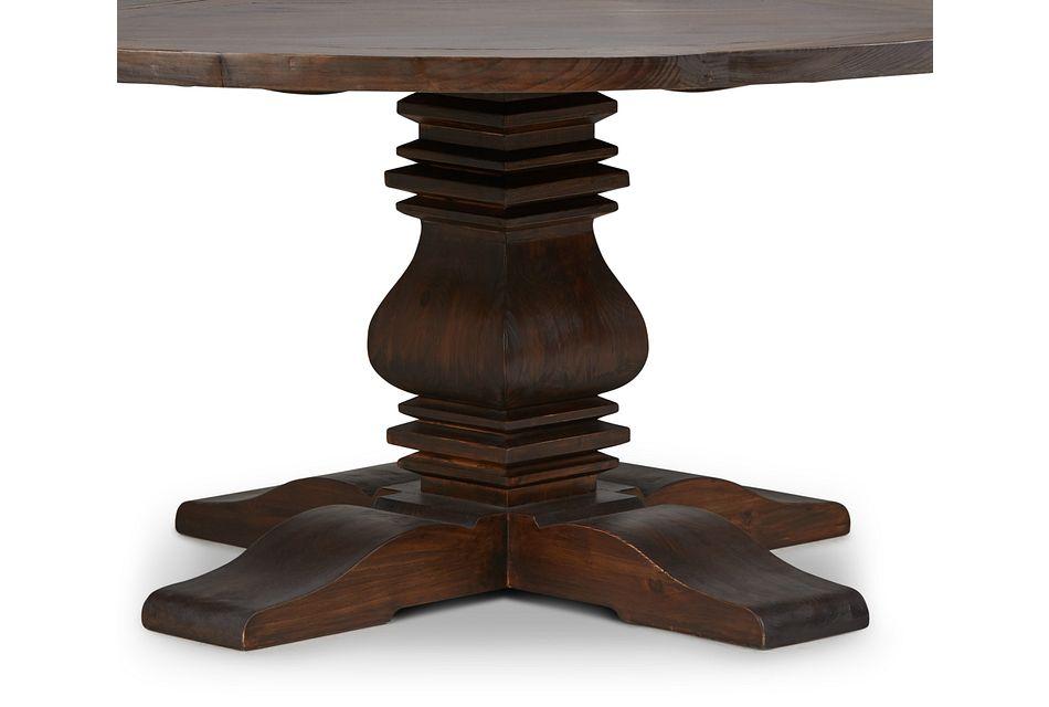 """Hadlow Mid Tone 72"""" Round Table,  (3)"""