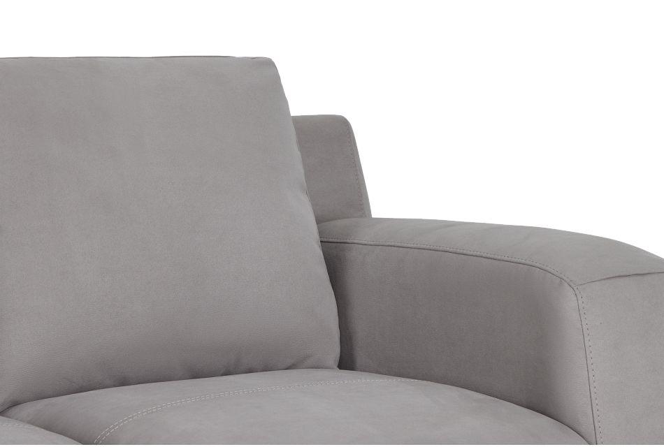 Wynn Light Gray Micro Sofa