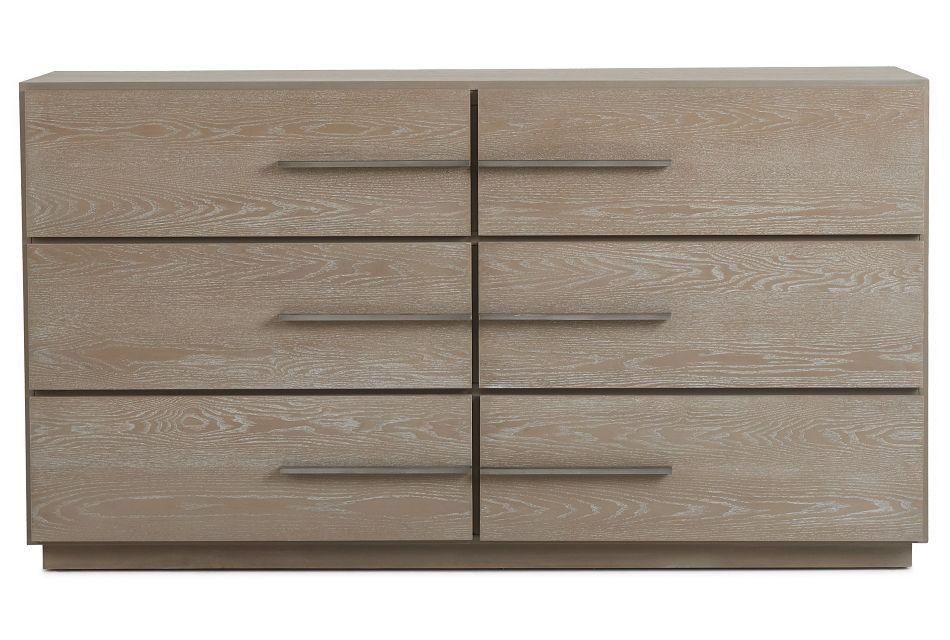 Destination Light Tone Drawer Dresser,  (1)