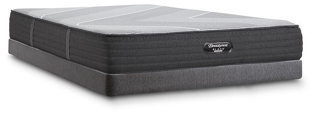 Beautyrest Black Hybrid X-class Plush Low-profile Mattress Set