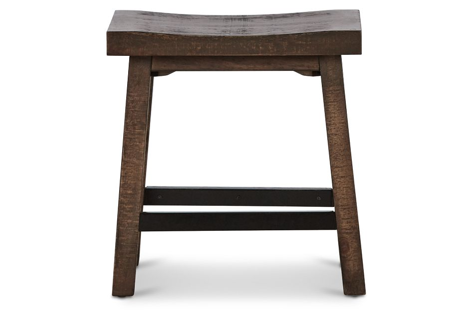 Heron Cove Mid Tone Curved Stool