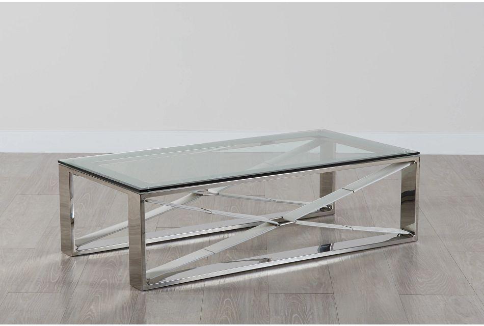 Mavis Glass Rectangular Coffee Table Living Room Coffee Tables City Furniture