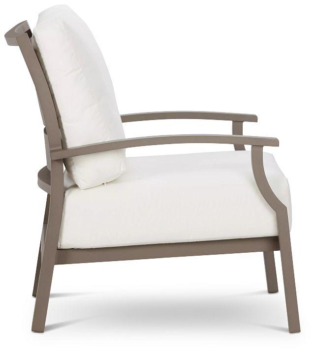 Raleigh White Aluminum Chair (1)