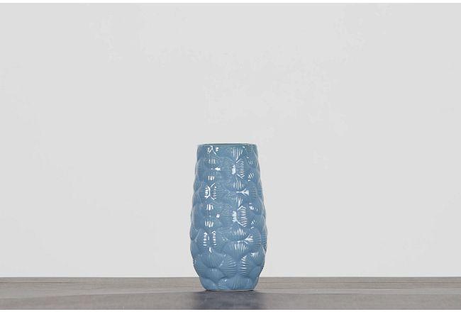 Florian Blue Vase