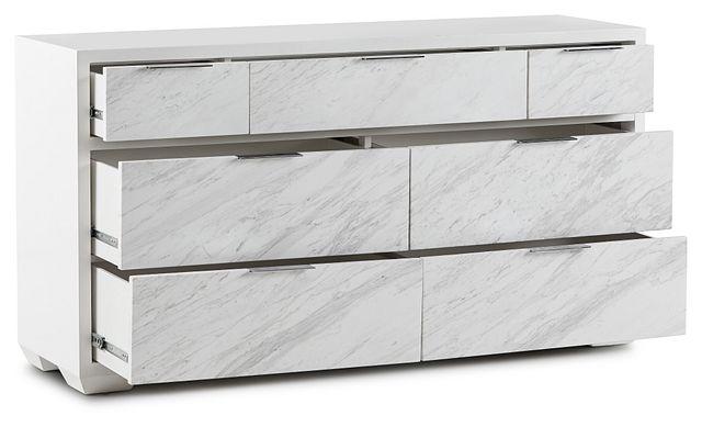 Ocean Drive White Marble Dresser (3)