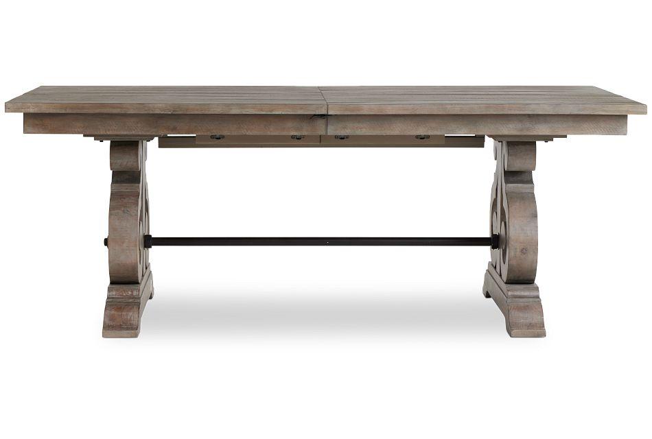 Sonoma Light Tone Trestle Table,  (1)